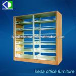 Steel Storage Shelf, Steel Bookshelf For Library use-KD-058(bookcase)