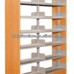 Latest Library Bookcases,Wooden Library Bookcases-BC-05