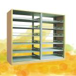 Wooden library bookshelves/Design furniture-BS-04