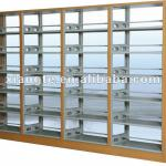 large capacity library furniture metal book shelves ,shelving units school furniture-SR002-XT