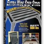 Extra Wide Step Stool-