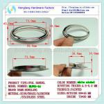 Colouful Eyelet Handle Oval Handle For Carton Box Decorative-HLP01