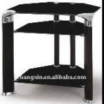 free stand modern tempered glass TV stand-CX-23b
