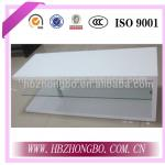 White MDF glass TV stand-Bench