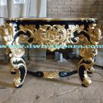 jepara furniture console Full carving table painted indonesia made by Dwira jepara furniture.(Only For Serious Buyer).