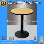 Modern Melamine Round Console Table