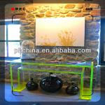 An-b878 european design factory sell high-transparent console table