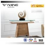 travertine marble console table D7708