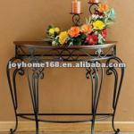 Wrought Iron Table/ Console Table for Family Use