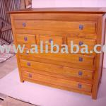 Console 7 Drawers Chest