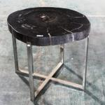 Fossil Wood Side Table Large