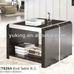 2013 new fashion black veneer console table