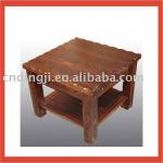 SQUARE WOODEN CONSOLE TABLE