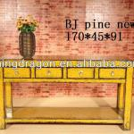 Chinese Antique Elm Wooden Console Tables