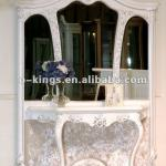 Hotel/Home Italian Wood Console Table With Mirror