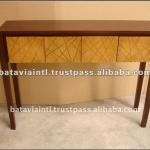 High Quality Chaos 3 Doors Wooden Console Table