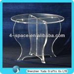 Classic Design Glass Table With Support