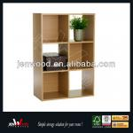 6 cube wooden bookcase