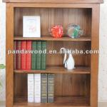 Rustic Solid Oak Wooden Bookcase for UK Design