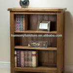 Harmony Brand mini contemporary solid oak open shelf-bookcase