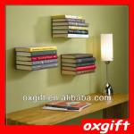 OXGIFT Floating Book Bookshelf