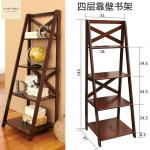 fashion easy cheap wooden bookcase
