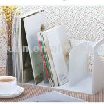 Yiwu stock desktop book rack magazine holder