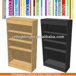 4 shelf MDF bookcase