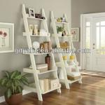 Hot!!! storage ladder ,bookshelf , 5 tiers shelf
