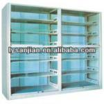 SJ-019 Glass door steel bookshelf school library furniture