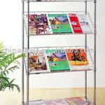 Wire Chrome Sloped Shelving Unit