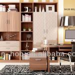 Modern Design Wooden Furniture Combined Bookcase