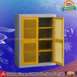 flat packed metal book cabinet