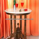 Klatten Wine Table-marble Top