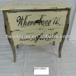 vintage french style bedroom table