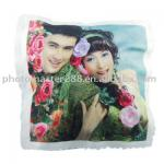 Rooming pillow print photo for oneself /sublimation pillow white color