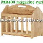 solid oak magazine rack/wood racks/newspaper rack