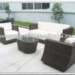 indoor rattan wicker sofa furniture set SG1025