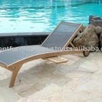 Teak wood Lounger