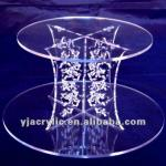 acrylic flower stand