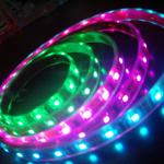 Beautiful decoration LED RGB flexible strip CE and RoHS