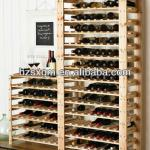 Natural Wood Shelf Wooden Wine Racks Wine Stand