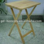 Wooden Tray Table: TV-1H Wooden Tray Table
