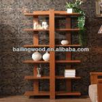 Solid Ash board room wall shelf panel furniture