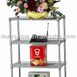 Decorative home furniture rack, carbon steel shelf,hall furniture