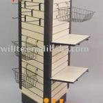 MDF slatwall display stand