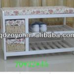 high quality wooden shelf for shoes