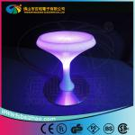 2013 Hot sale LED cocktail bar table plastic bar furniture with 16 colors