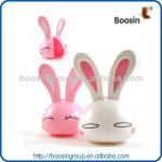 Happy funtime silicone rubber baby toothbrush with rabbit image-NP-YSJ014