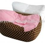 Vintage dots baby beanbag bed with inner bag-CKB-A3006
